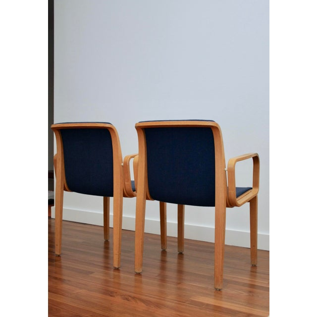 Bill Stephens for Knoll Arm Chairs, a Pair - Image 5 of 8