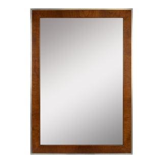 Chrome Mid-Century Modern Mirror