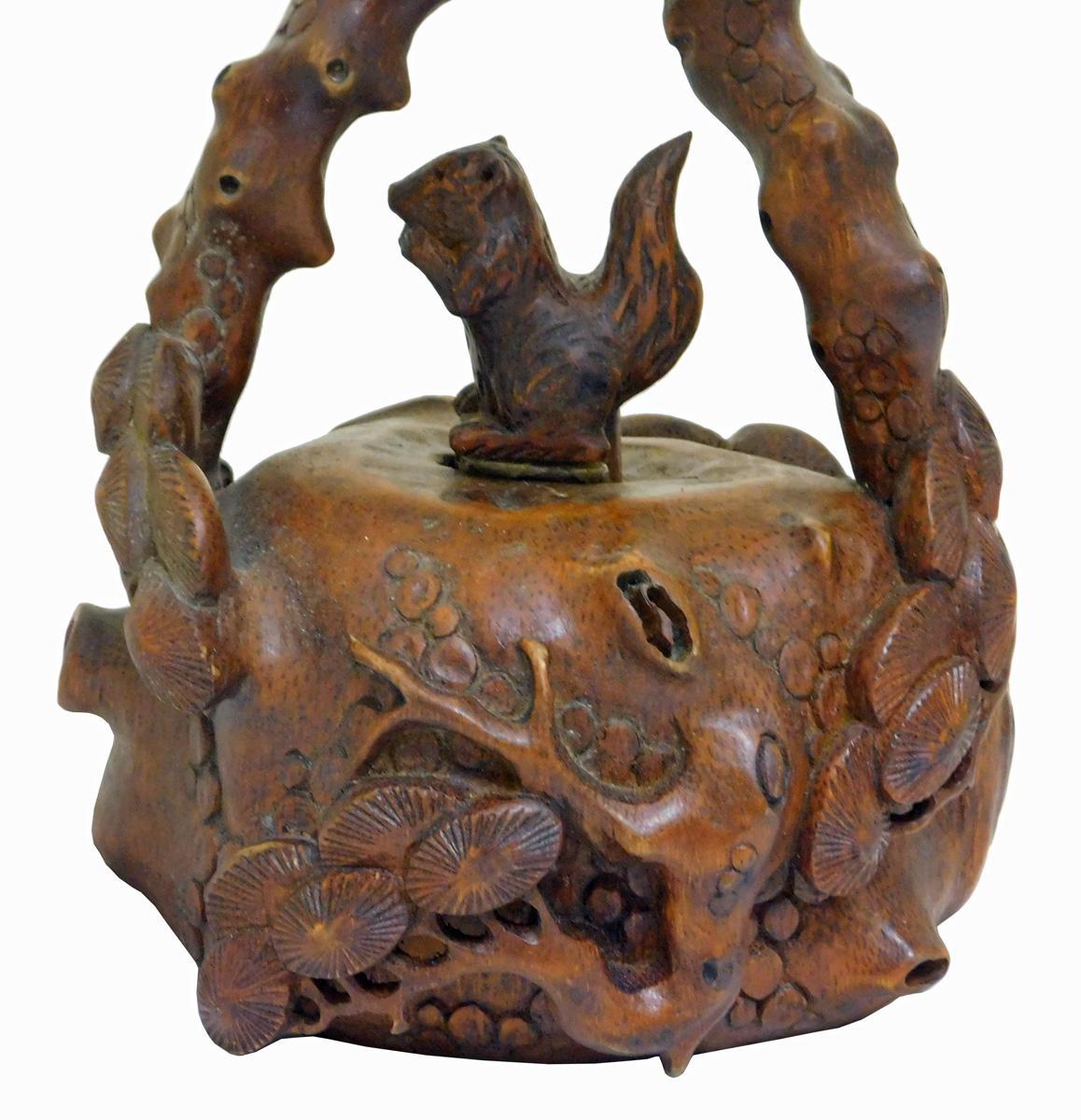Chinese Hand Carved Bamboo Art Display Chairish