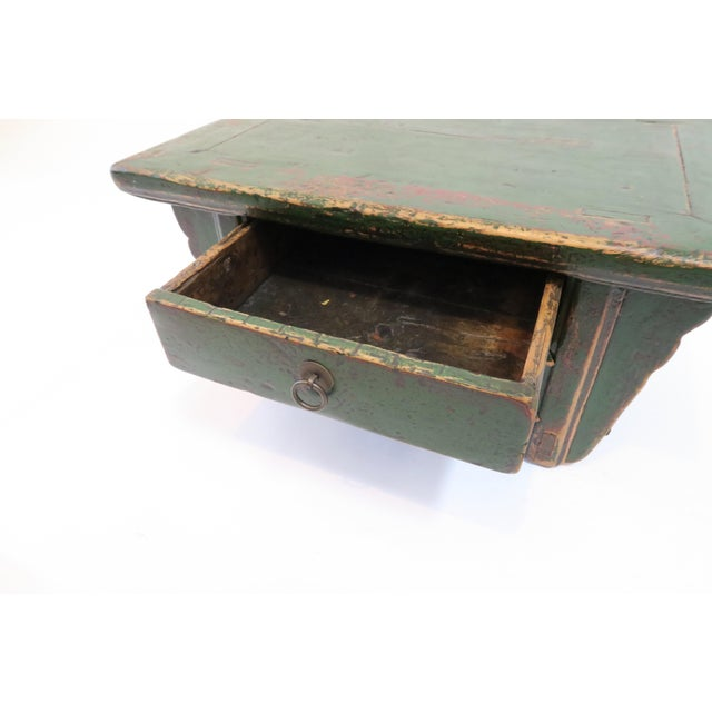 Japanese Low Writing Desk - Image 5 of 7