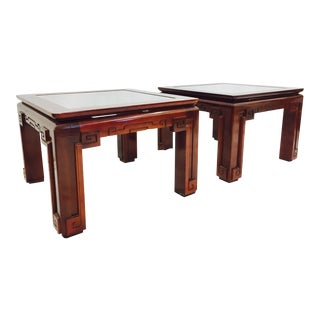 Vintage Asian Ming Style Side Tables - A Pair