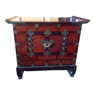Chinese Lacquer Side Table