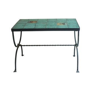 Antique Arts & Crafts Period Tile Coffee Table