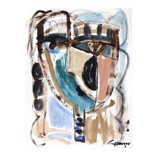 """Lesley Grainger """"Kati-Anne"""" Original Face Painting"""