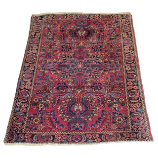 Brightly Colored Persian Rug - 3′4″ × 5′1″