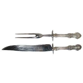 Sterling Silver Carving Set, C. 1948