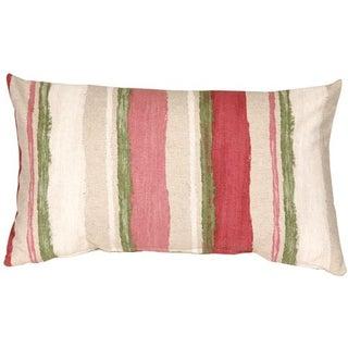 Pillow Decor - Albany Stripes 12x20 Throw Pillow