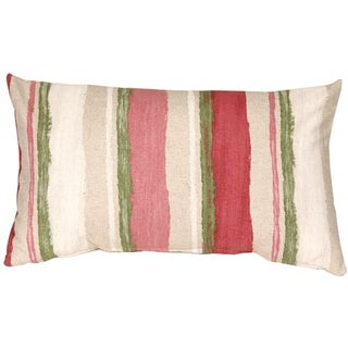 Pillow Decor - Albany Stripes 12x20 Throw Pillow