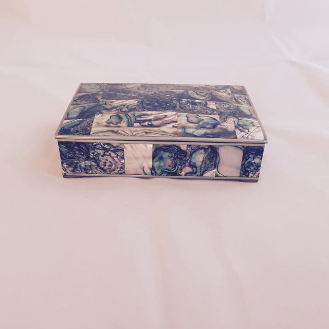Large Abalone and Alpaca Box - Image 2 of 5