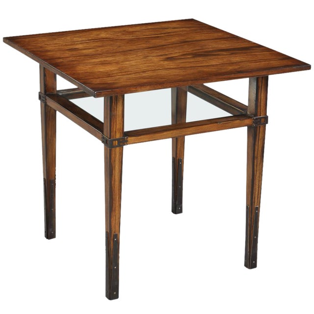 Sarreid Ltd. Taper Square Side Table - Image 1 of 3