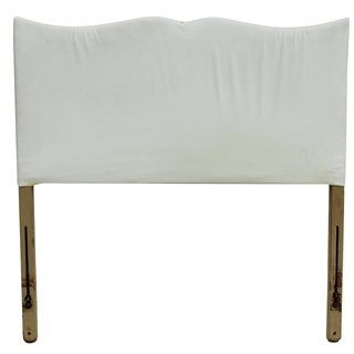 Hollywood Glam Scalloped Twin Headboard