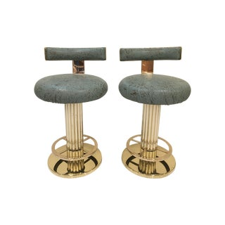 Designs for Leisure Reeded Column Bar Stools - 2