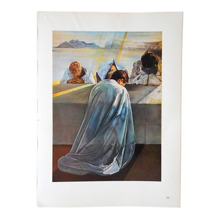 Vintage Ltd. Ed. Surrealist Lithograph-Salvador Dali-France-1957