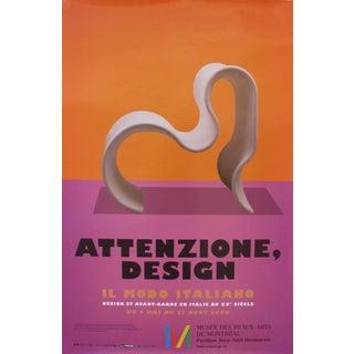 2006 Italian Design Exhibition Poster