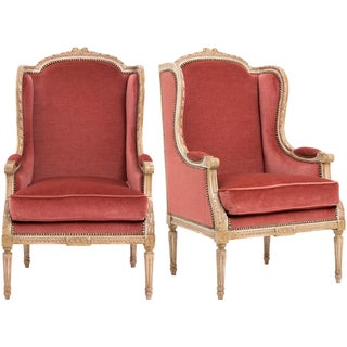 French Louis XVI Bergères - Pair