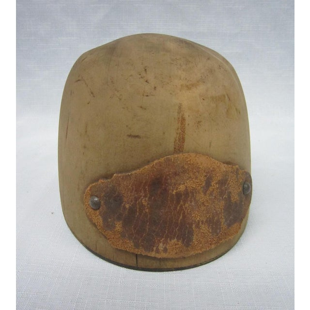 Antique Wooden Hat Mold - Image 4 of 4