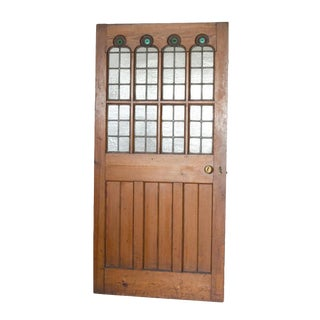 Gothic Revival Pine Door