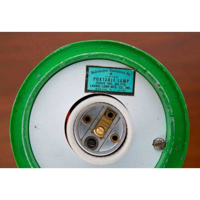 Rare Green Laurel Mushroom Lamp - Image 5 of 6