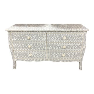 Restoration Hardware Mosaic Bone Inlay Dresser