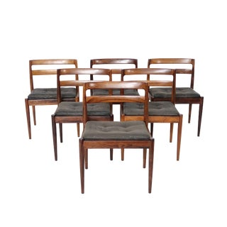 Kai Kristiansen Mid-Century Rosewood Chairs - Set of 6