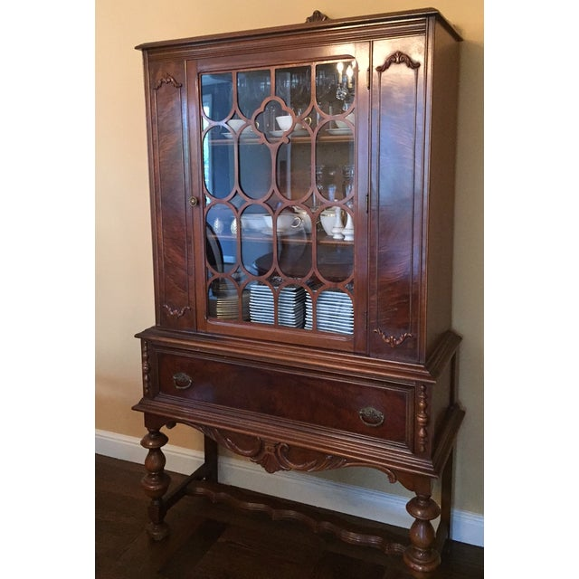 Traditional Solid Wood Hutch - Image 2 of 4