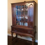 Image of Traditional Solid Wood Hutch
