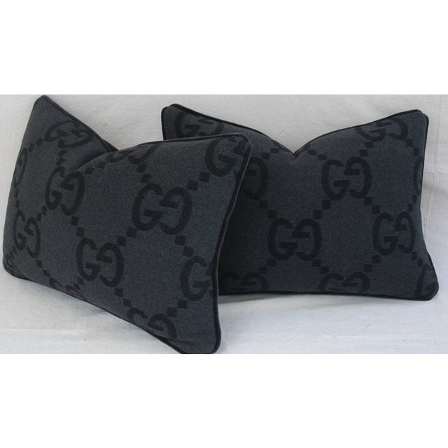 Gucci Cashmere & Mohair Pillows - Pair - Image 10 of 10