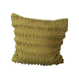 West Elm Decorative Pillow, Mustard Toned - 2