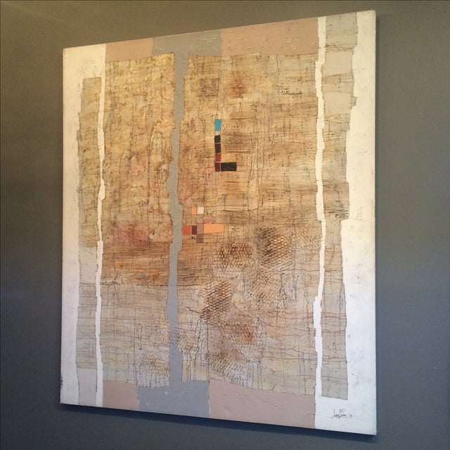 Abstract Contemporary Mixed Media by Lee Burr - Image 3 of 11