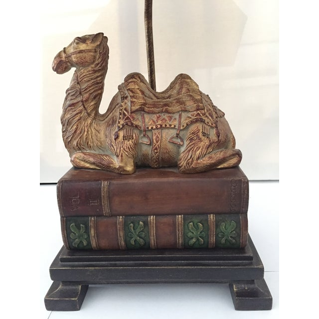 Frederick Cooper Cast Bronze Camel Base Table Lamp Chairish