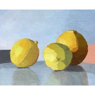 Three Lemons Original Oil Painting