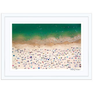 "Gray Malin Medium ""Coogee Beach"" (à La Plage) Signed Framed Print"
