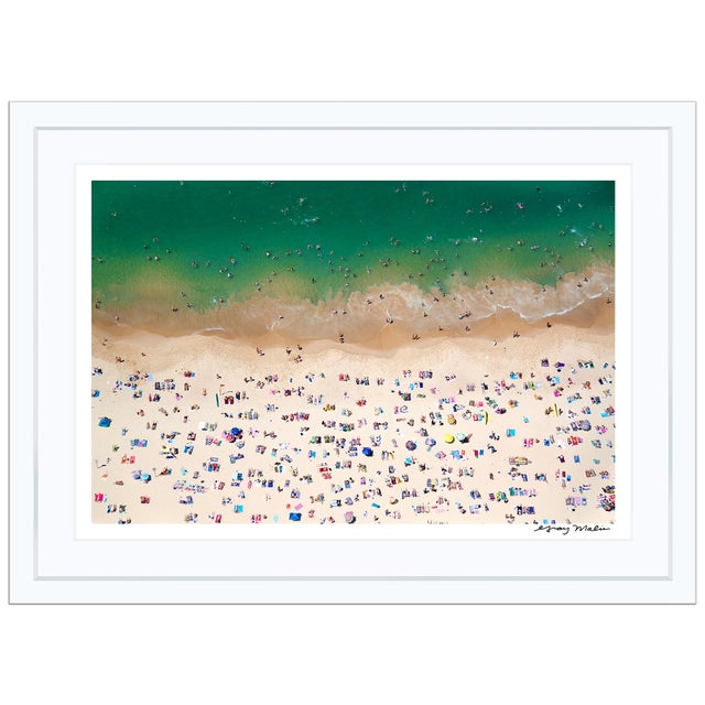 "Image of Gray Malin Medium ""Coogee Beach"" (à La Plage) Signed Framed Print"