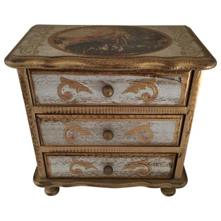Mid-Century Florentine Jewelry Box
