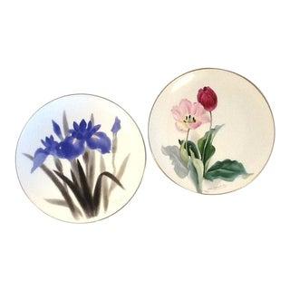 Vintage Artist-Signed Noritake Plates