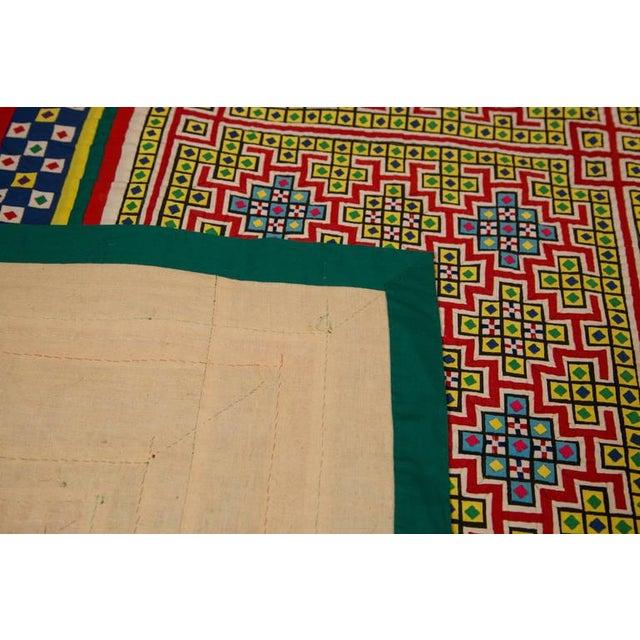 Handwoven Vietnamese Quilt - Image 6 of 8