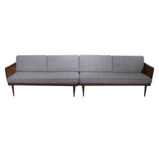 Two-Piece Convertible Sofa Daybed by Peter Hvidt & Olga Molgaard by France & Son
