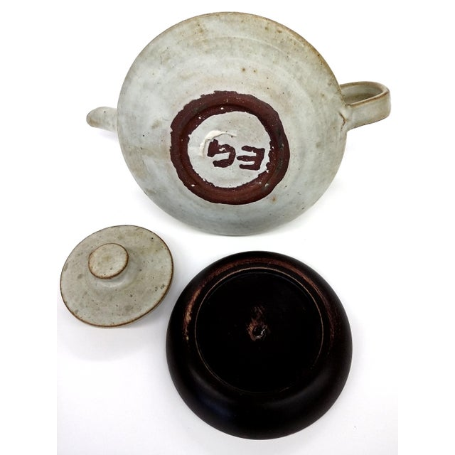 Artisan Stoneware Tea Pot - Image 6 of 10