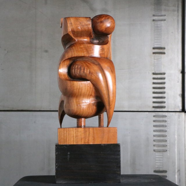 Image of Vidauri Modern Abstract Wooden Sculpture