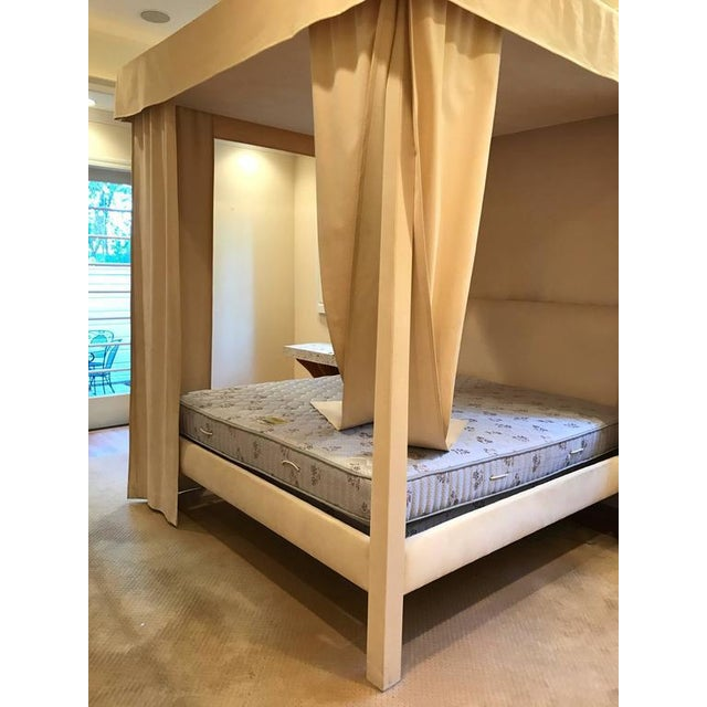 Incomparable Michael Taylor Canopy Bed - Image 9 of 9
