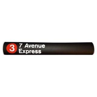 New York City Subway #3 Train Sign