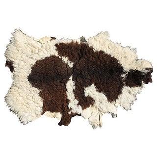 Vintage Large Beni Ourain Sheepskin