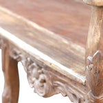 Image of Carved Anglo India Settee