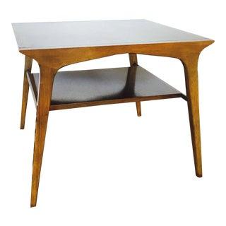 Drexel Mid Century Walnut Side Table