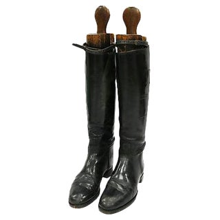 Antique English Women's Riding Boots