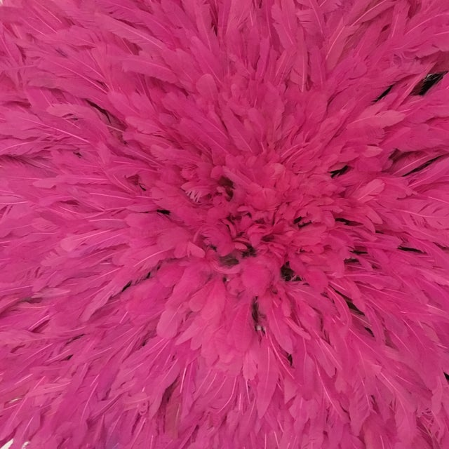 Cameroon Hot Pink Juju Hat - Image 3 of 3