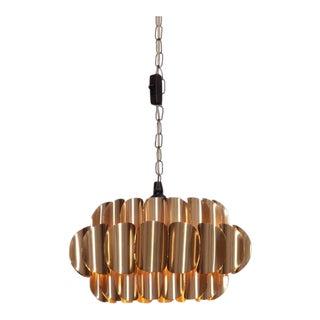Brass Pendant Lamp by Hans-Agne Jakobsson
