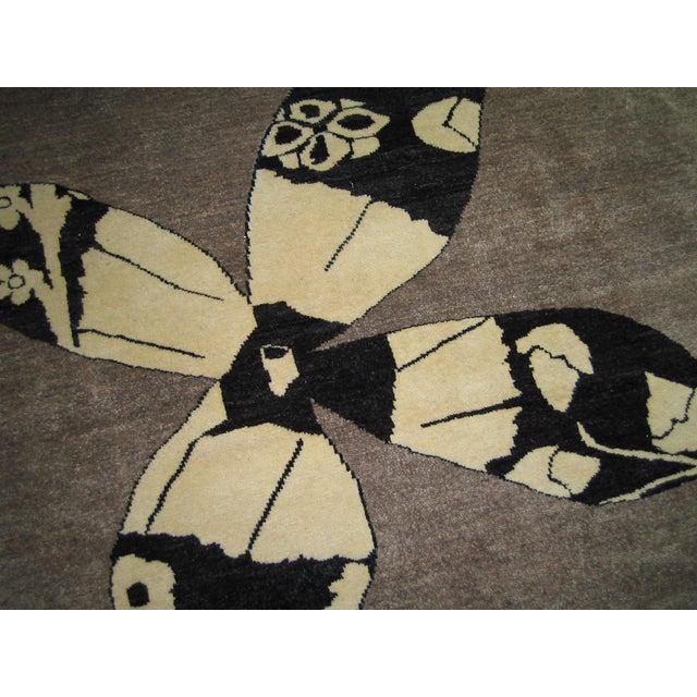 Madeline Weinrib Putty Lark Tibetan Wool Rug - 7′10″ × 10′1″ - Image 3 of 9