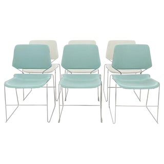 Kruegar Mid-Century Modern Dining Chairs- Set of 6