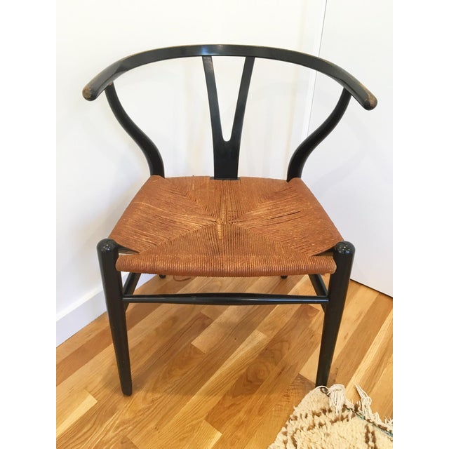 hans wegner vintage wishbone chair chairish. Black Bedroom Furniture Sets. Home Design Ideas